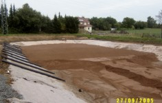 Bodenfilteraufbau