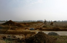 Kanalbauarbeiten