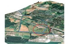 3D-Luftbild Landwehrbach Und HRB