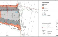 Busbahnhof Petershagen Lageplan