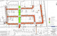 Lageplan Strassenbau