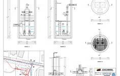 Lageplan Mit Bauwerkszeichnung