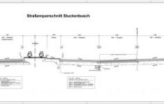 PWC-Anlage Stukenbusch - Regelquerschnitt