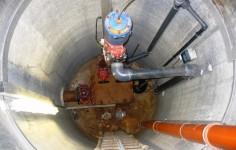 Schmutzwasserpumpwerk