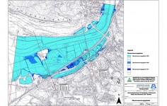 Ueberschwemmungsflaechen Weserhochwasser 1841 1946 1995
